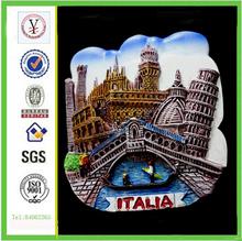 Factory Custom Resin Tourist Souvenir Fridge Magnet