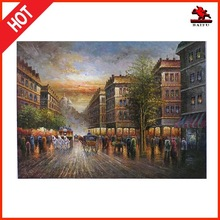 new 2015 product Classic Europe paris scenery oil painting