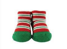 custom wholesale cotton baby socks like shoe