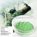 de cerámica de pigmentos de color verde pavo real para la porcelana