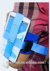 Sky blue color arm mobile phone pouch/case
