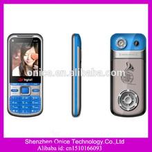 2.2QVGA screen gsm mobile phone Q100 Spreadtrum 6531 qwerty keypad dual sim phone with multi language