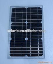 high efficiency mono crystalline small solar panel 20 Watt silicon modules