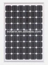 12V 120W monocrystalline solar panel A grade solar cell
