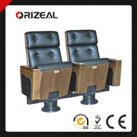 Orizeal black home theater chairs OZ-AD-120