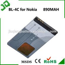 China manufacturer original genuine mobile phone battery BL-4C for Nokia 1202/1265 / 1325 / 2650 / 2652 / 2700 / 3108 / 3500c /3