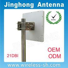 factory price 4900-5850GHZ wimax 21dbi flat panel antennas