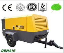 Diesel Screw Mobile air compressor for drilling machine