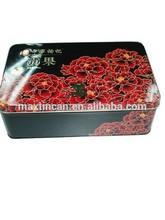 Chocolate wedding gift tin box, chocolate gift box, tinplate food packaging box