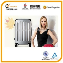 Fashional PC+ABS travel luggage and trolley travel bag.