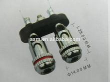 binding post push type speaker parts speaker terminals