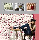 home decoration fashion modern geometric design waterproof background 3d vinyl wallpaper