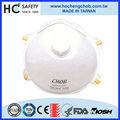 Anti- grip n95 burun kimyasal gaz maskesi nonwoven tıbbi yüz maskesi