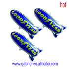 wholesale high quality inflatable missile helium balloon