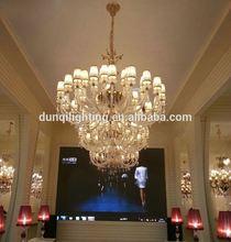 Hot sale glass pendant fixtures led chandelier