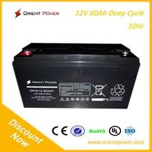 long life 12V65AH deep cycle battery for solar system,sealed lead acid battery 12v 65ah,vrla battery 12v 65ah