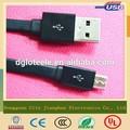 hecho en china magnético 10cm usb cable de datos micro cable plano