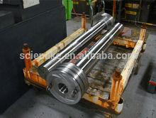 2014 High Precision heat treatment hard chromium plated hydraulic piston rod