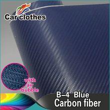 Hot Selling Car Wrap Sticker 3D Carbon Fiber Vinyl Roll