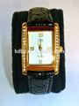 bande de cuir montres pour dames 2014 petit visage nouveau design chiffres romains analogique