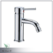 bathroom brass single handle bidet faucet