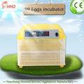 Automático de micro- controlador 96 pequeña incubadora del huevo/incubadora para kenia mercado/incubadoras de huevos de los precios