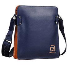 2015 Fashion Microfiber Leather Waterproof Men Messenger Bag