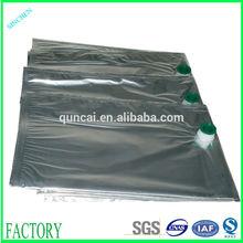 High quality silver plastic foil bag for sale
