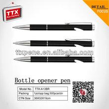 2014Elegant design promotional pen,bottle opener,gift pen