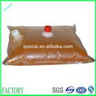 plastic fruit bag/bag in box for juice/orange juice bag