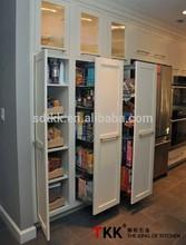 TKK Pull Out Kitchen Cabinet Sliding Basket Storage