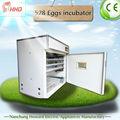 500 ovos incubadora com ce aprovado completo automático industrial de incubadoras de ovos para incubação yzite- 8