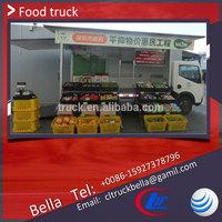 DFAC small food van mobile , Euro 3/4 fast food van for sale , cheap mobile catering trucks