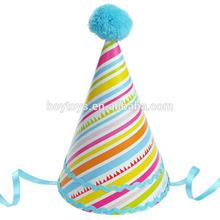 Splendid paper supplies birthday cheap party hat (HX-H19)