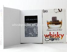Meilleures ventes pierres de Whisky écossais Rocks avec l'emballage délicate comme cadeau de noël