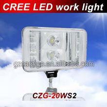 tuning light 40w led work light work lamp , 12v 24v led auto light , auto lighting system led work light