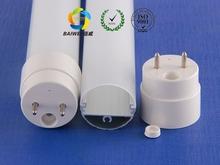Import material PC cover Aluminum heatsink T8 LED tube light housing/ led tube shell/T8 LED tube light profile