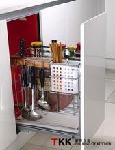 TKK 400MM Cabinet Size Base Basket Wire Sliding Storage