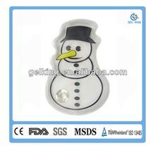 Snowman Comfortable Circle Gel Hand Warmer