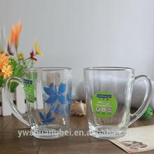 Juice Mugs Glass Beer Cup Tea Cup & Handle Glass Mugs