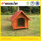 Hot sale! Classical Design outdoor dog kennel designs with PVC door flap