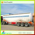50m3 3 AXLE truck coal ash / bulk cement / cement silo trailer for sale ( volume optional )