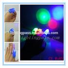 hot sale multicolor mini wholesale led finger lights for promotion gift