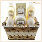 Hot Sales Wooden Basket Wholesale Bath Gift Sets