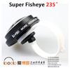 universal clip 235 degree Fisheye Lenses clip phone accessories