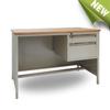 MDF top latest design steel office desk/table