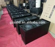 "pro audio system dual 12"" active line array speaker"