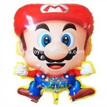 Hot sale fanny Mario foil cartoon balloon for kids(HX-ZB97)