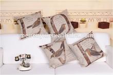 Plain family assembly pillows decorative customized 4pcs sofa cushions