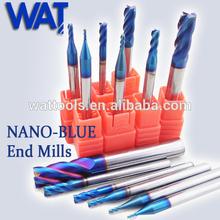 The Highest Quality Nano Blue Coating Cutting Tool/Carbide Cutting Tools/CNC Cutting Tools